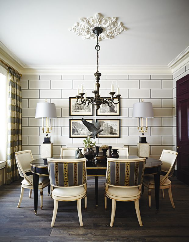 412 best dining spaces images on pinterest dining room dining rooms and beautiful bedrooms - Stylish modern dining sets for neutral toned interior ...