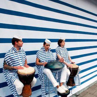 Citydressing: Van Straaten - Let's Impress Bretonse strepen van Jean Paul Gaultier (expo)