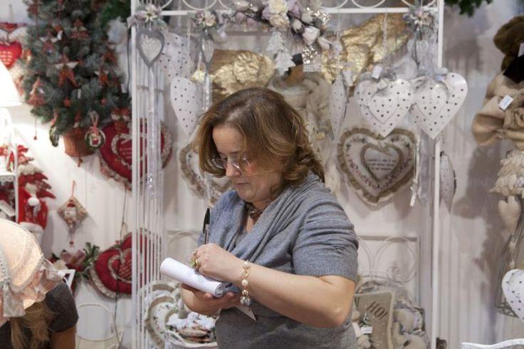 Divertiti a creare i tuoi addobbi natalizi #passionecreativa #artigianoinfiera #pad7