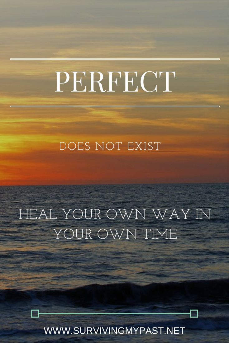 Perfectionism, the anxiety driven fallacy in recovery. via @SurvivingMyPast