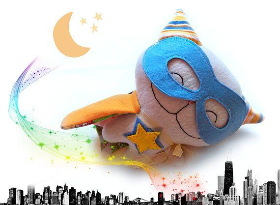 Plush superhero cat toddler toy superhero birthday gift