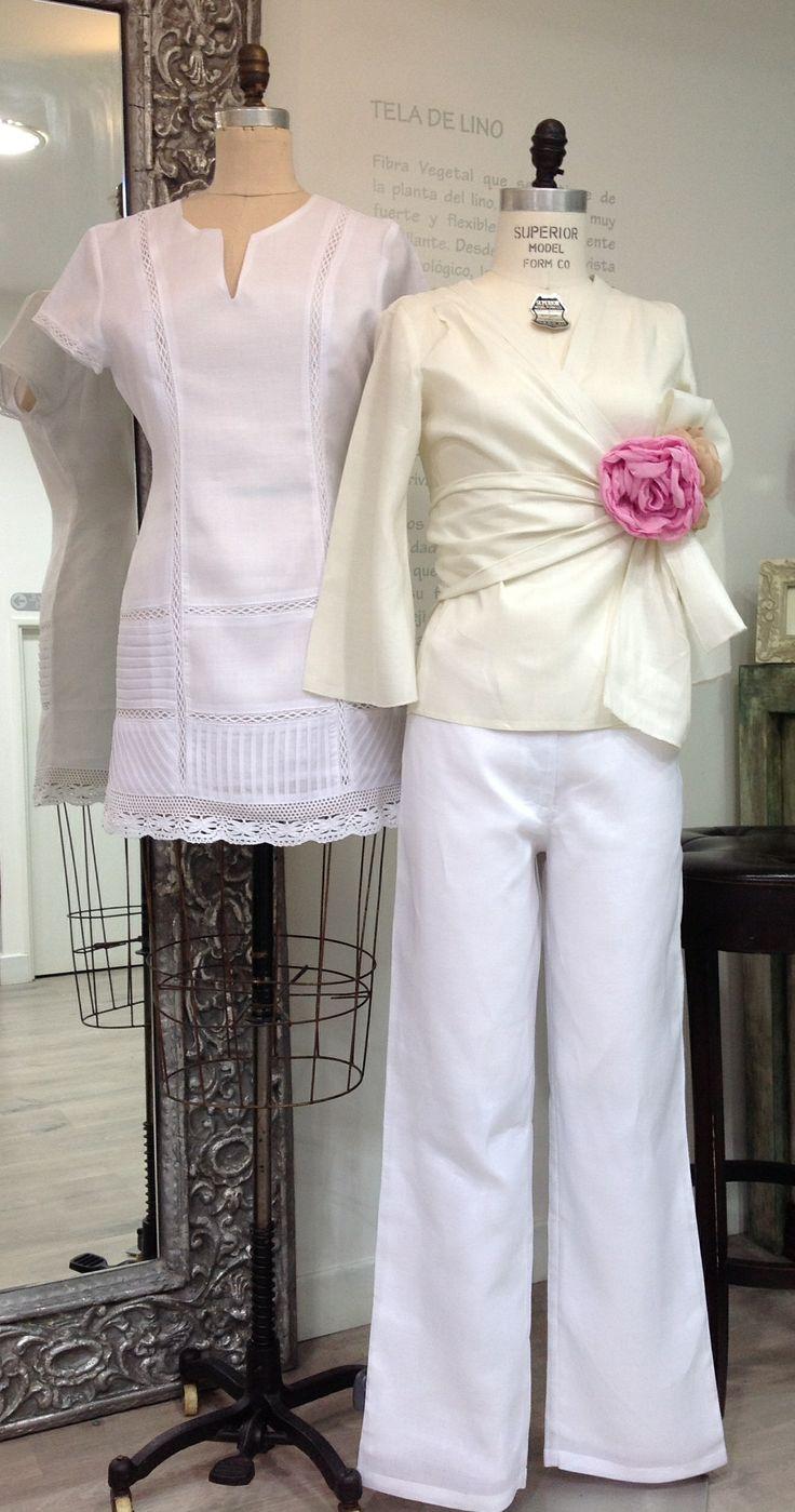 Los colores claros en la ropa aportan frescura y elegancia. además puedes combinarlos con diversos colores y accesorios.  #GriseldaTovar #Moda #Mujeres