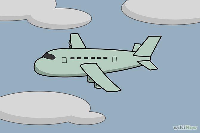 Leer een vliegtuig tekenen!