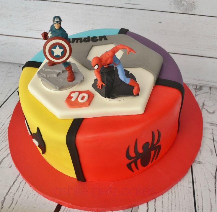 Disney infinity cakes - Google Search