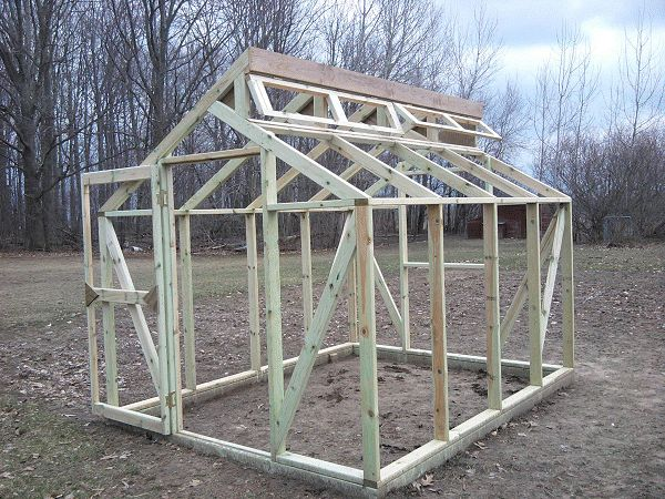 greenhouse built by Jim M