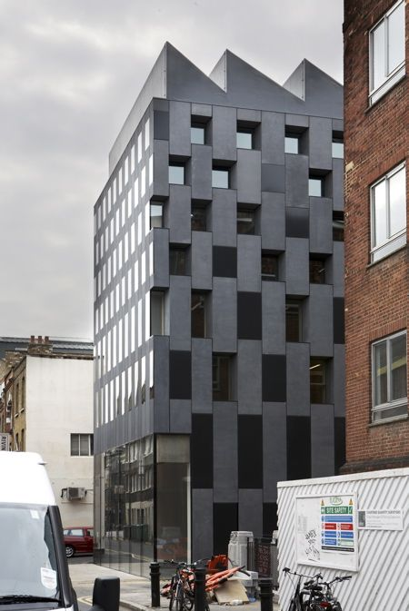 Rivington Place, a new arts space in Shoreditch, London, designed by architect David Adjaye