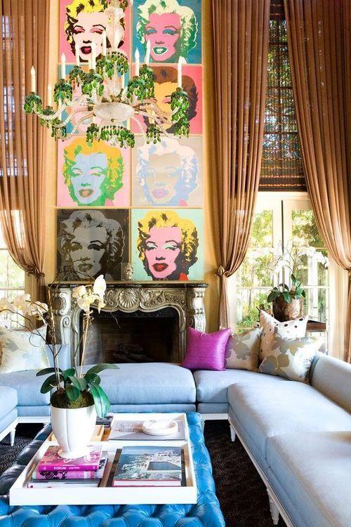 Verano En El Museo Thyssen Con Los Mitos Del Pop Art Expondr Durante Living Room