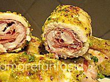 Involtini di pollo e pistacchi | ricette con pistacchi