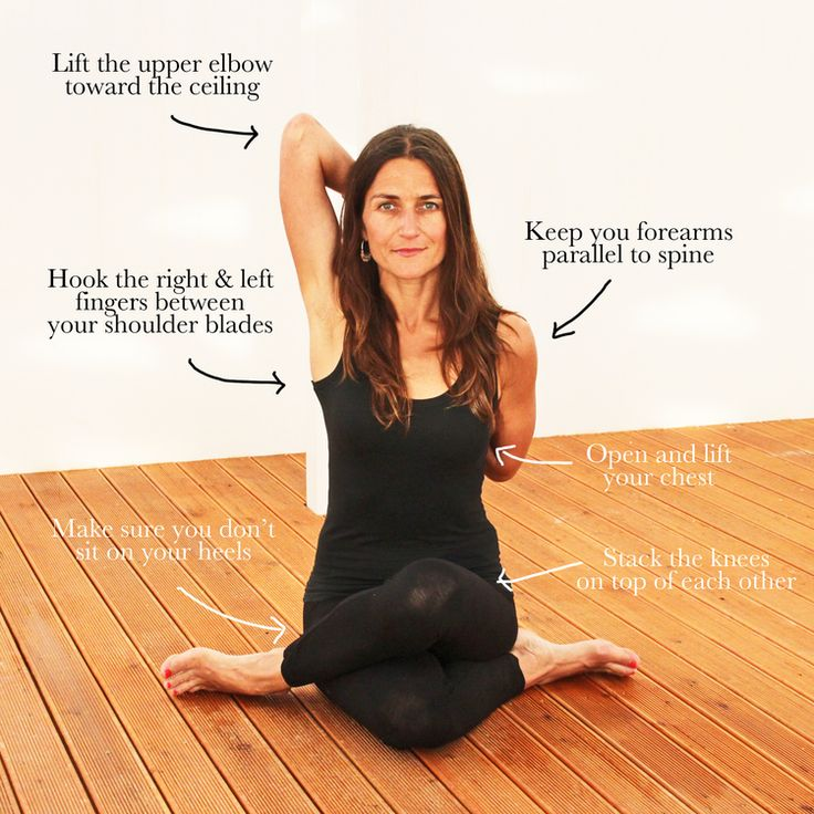 Cow Face Pose | Michaela Olexova | Prana Yoga | www.michaelaolexova.com