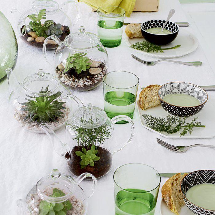 5 idées pour un terrarium chez soi - Marie Claire Idées