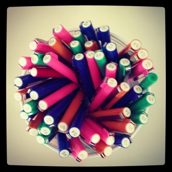 Lots of pens!!!