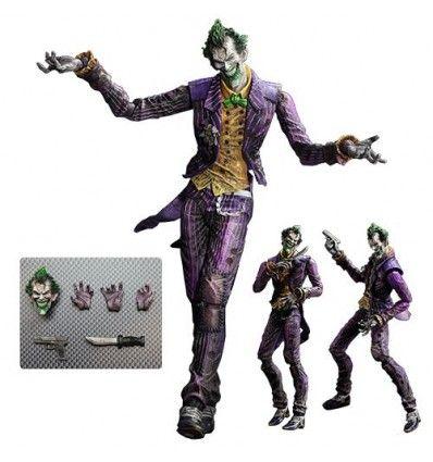 Batman Arkham City Play Arts Kai Joker Figurine