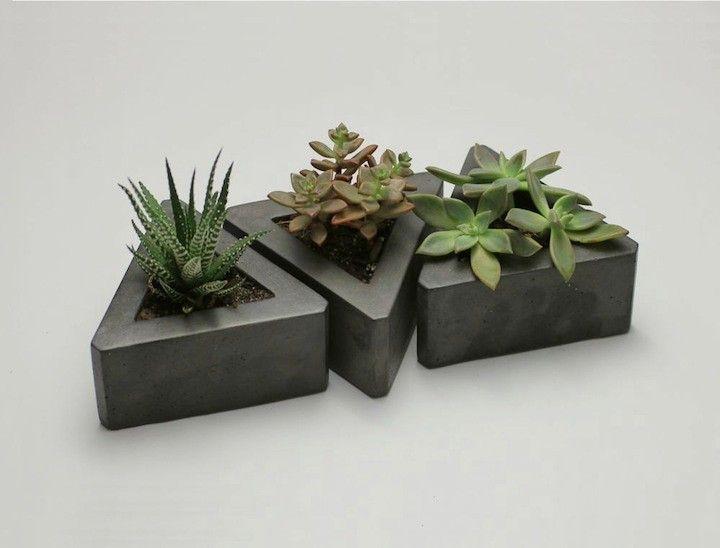Las 25 mejores ideas sobre macetas de concreto en - Macetas de cemento ...