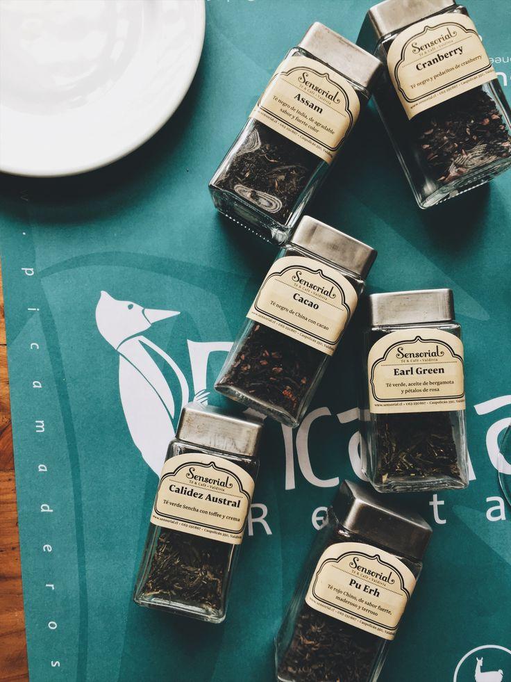 Para descansar, y disfrutar de una buena sobremesa, té Sensorial.