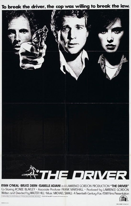 """The Driver,"" d. Walter Hill, international poster"