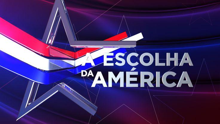 A Escolha da América Eleições EUA 2016 3D Rui Aranha on Behance