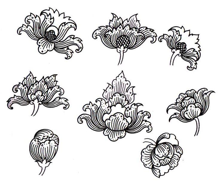 Bloom-lai-thai-art-work-Pudtarn-hand-writing-sample-2.jpg (800×663)