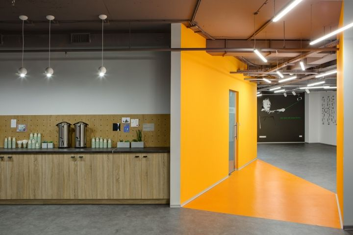 HUB 4.0 office by Nika Vorotyntseva, Kiev – Ukraine » Retail Design Blog