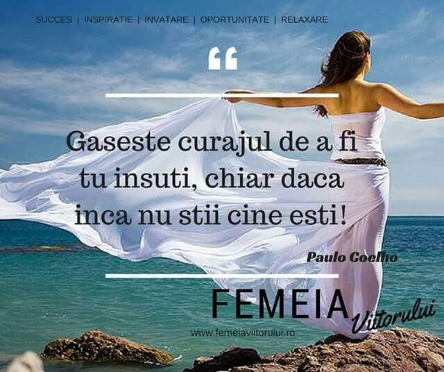 Inspiratia zilei de la www.femeiaviitoruluk.ro #femeiaviitorului