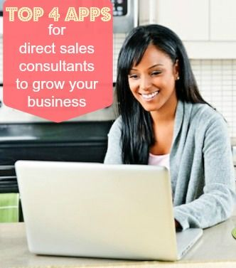 top 4 apps for direct sales consultants to grow business