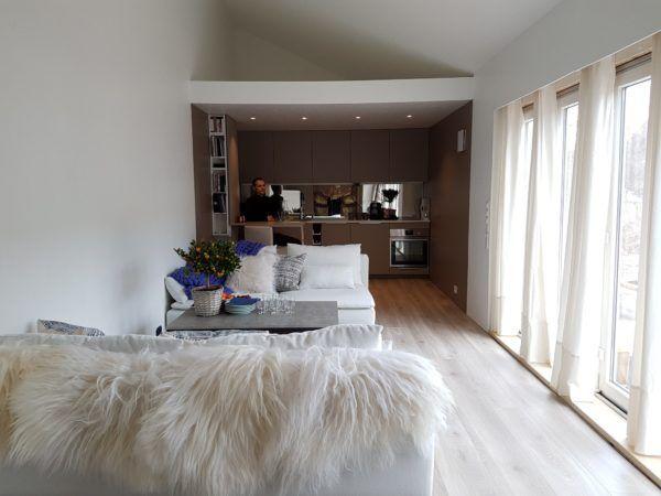Sonja and Dag's Norwegian Modern Living Mikrohaus