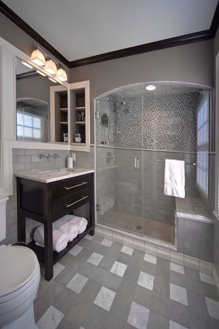 Master Bath 10026 - Traditional - columbus - by J.S. Brown & Co.