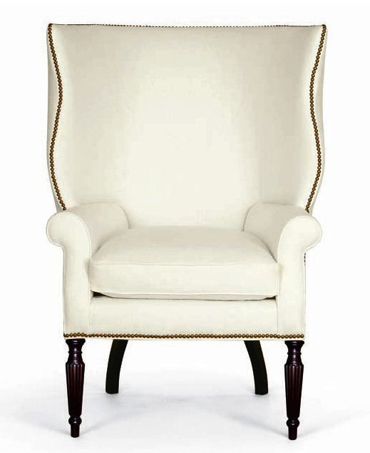Victoria Hagan Wingchair. Hamptons chic!:
