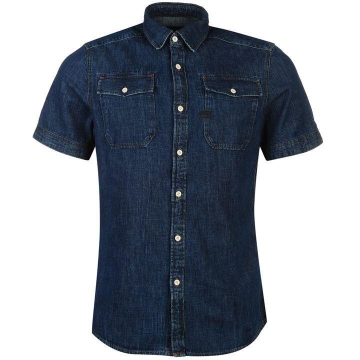 £33.00 G Star | G Star Raw Landoh Denim Shirt  | Mens Shirts