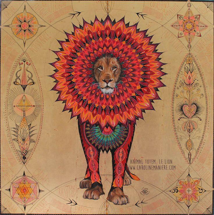 animaux totem – Caroline Manière