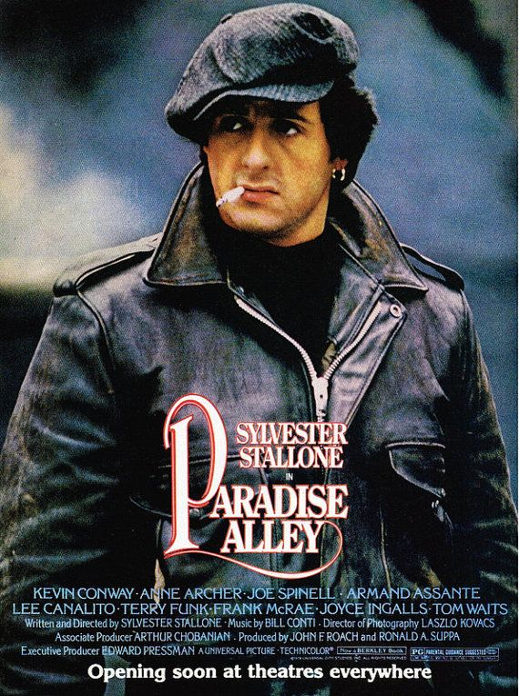 1978 Sylvester Stallone Paradise Alley Movie Promo Print Ad Art Poster Affiliate