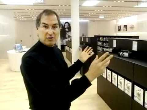 The Apple Store..after opening, funny some of the items... posted my Paul Valach