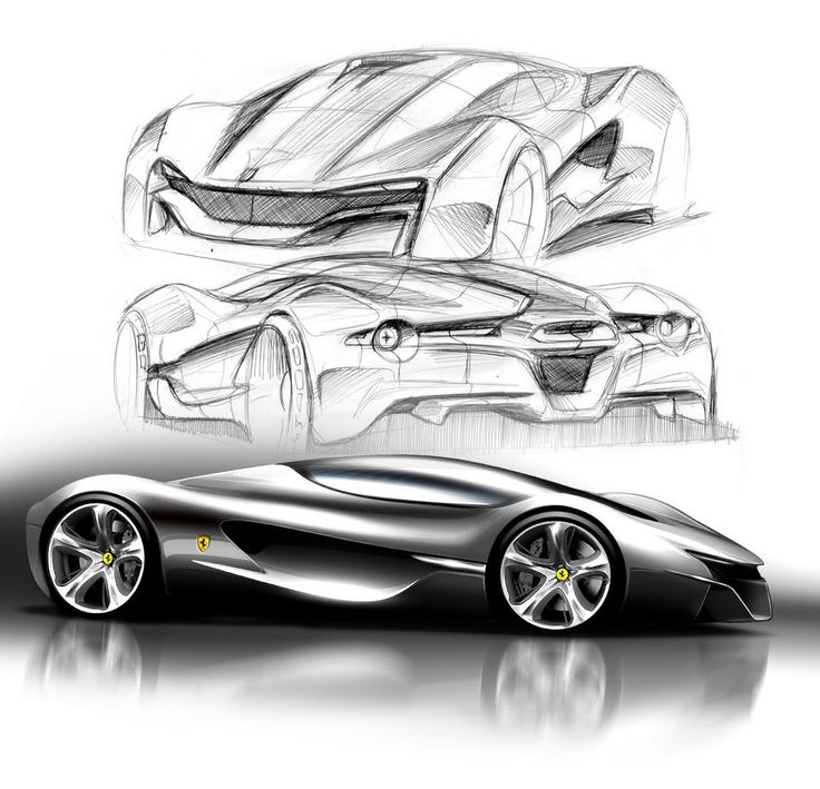 the iconic lines of ferrari vehicles are backed up with innovative technological concepts in the winning models of the ferrari world design contest - Car Design