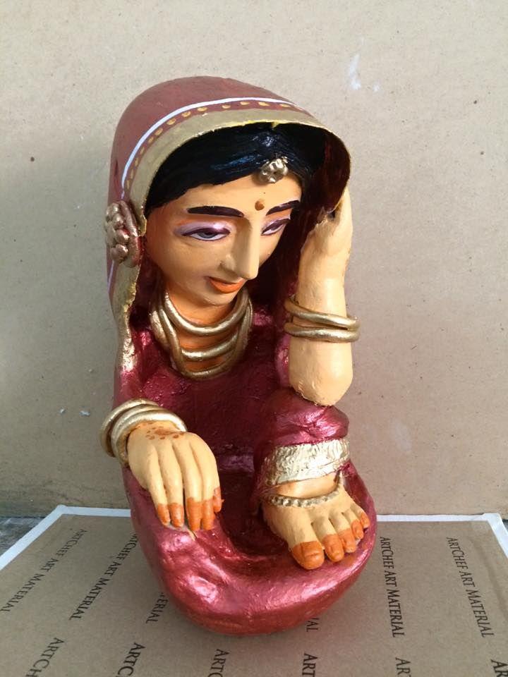Как сделать деревенских женщин от глинистых artvillage-женщин-1