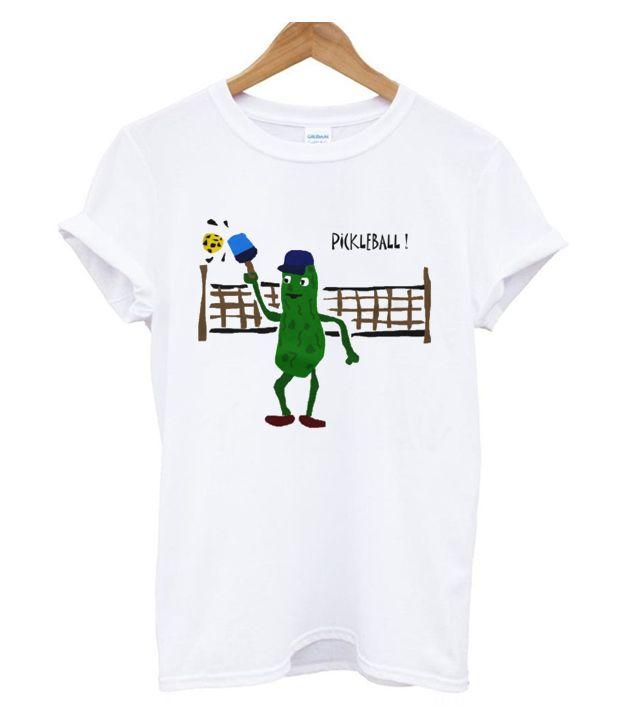 Pickle Playing Pickleball T Shirt Best Deal T Shirt Pinterest