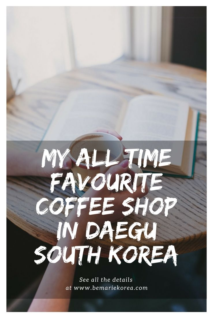 Korea is the mecca of coffee shops! Big, small, pretty, cute, weird; name it, Korea has it! Recently I stumbled on this amazing coffee shop in Daegu, the cutest place for your coffee break!