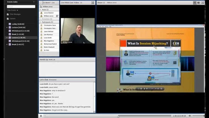 Security: What is Session Hijacking? New Horiozns Great Lakes instructor Bill Jones talking about Session Hijacking in our Certified Ethical Hacker Online LIVE class. #IT #Security #CertifiedEthicalHacker #CEH #Class