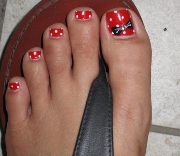 IMG_0010_14.JPG - Best 25+ Disney Toe Nails Ideas On Pinterest Disney Toes, Minnie