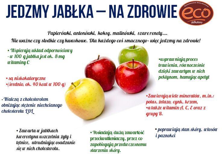 jedzmy jabłka - http://www.eco-delikatesy.pl/?p=593