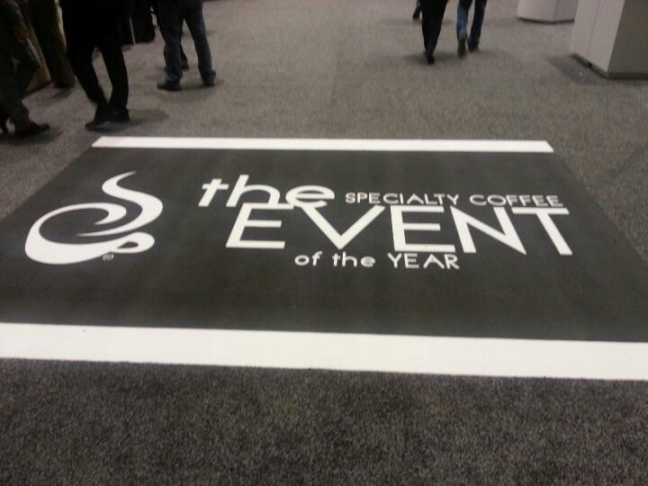 floor sign in SCAA