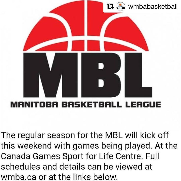 @wmbabasketball Manitoba Basketball League regular season schedules are now available on the WMBA.CA website