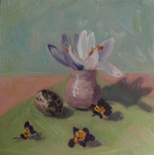 """Spring"" - Original Fine Art for Sale - © Carolien Van Olphen"