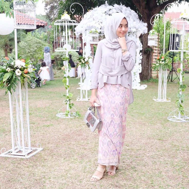 """at the wedding ( @olasvi ) yesterday afternoon, wearing lana top from @nrh.fornabilia"" ig @nabilahatifa"