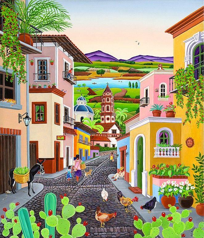Mexico ~ Raul del Rio ~ MI PUEBLITO                                                                                                                                                                                 Más