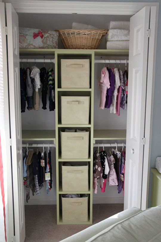 Another closet organization idea