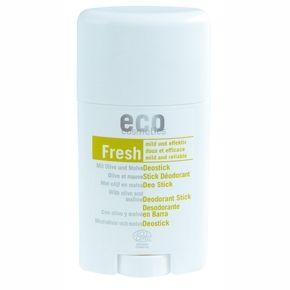 Deodorant bio stick cu nalba si frunze de maslin, 50ml, Eco Cosmetics  - Sabedoria