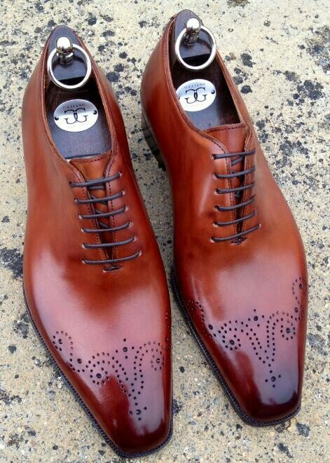 Great shoes for business suit combis by Gaziano & Girling