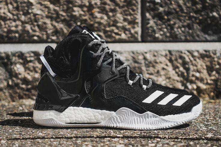 "adidas D Rose 7 ""Core Black & White"" (Detailed Pictures) - EU Kicks: Sneaker…"