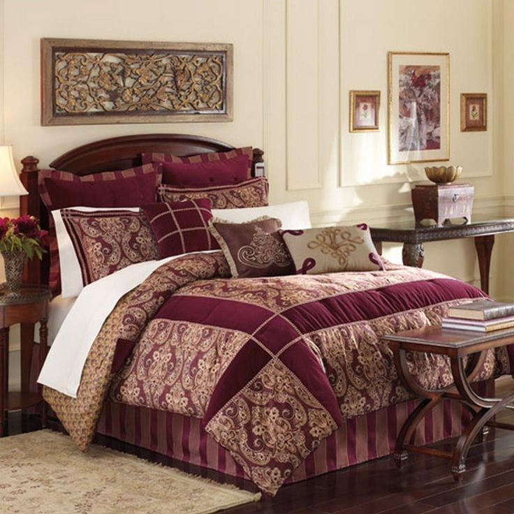royal velvet westbrook oversize king comforter bed in a bag set - Oversized King Comforter