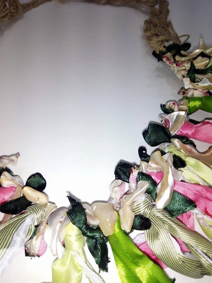 Detalle collar colección textil