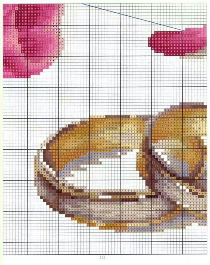 Rose x-stitch 5 of 7